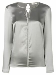 Peserico silk blouse - Grey