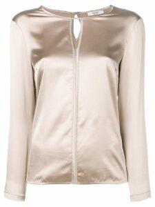 Peserico silk blouse - Neutrals