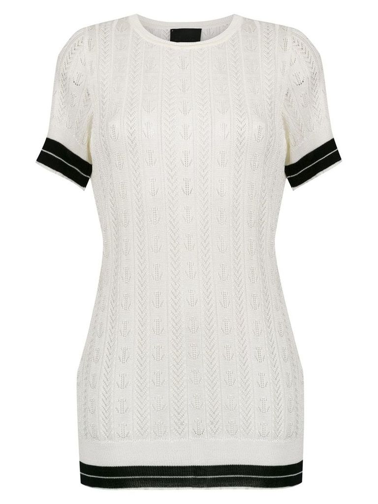 Andrea Bogosian knitted top - White