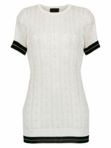 Andrea Bogosian knitted top - White