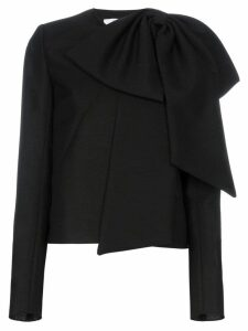 Givenchy oversized bow top - 001 Black