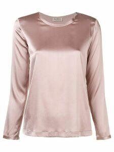 Blanca round neck blouse - Pink