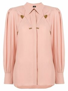 Elisabetta Franchi loose fit blouse - Pink