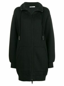 T By Alexander Wang oversized zipped sweater - Black