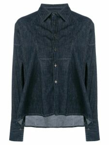 Diesel Black Gold denim tunic shirt - Blue