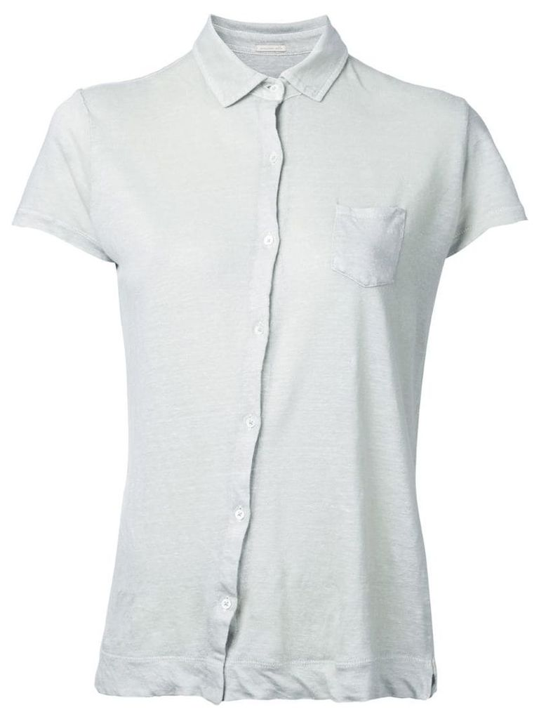 Massimo Alba off-center button fastening shirt - Neutrals