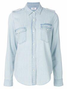 FRAME Military denim shirt - Blue