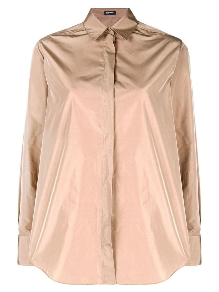 Jil Sander Navy minimal shirt - Neutrals