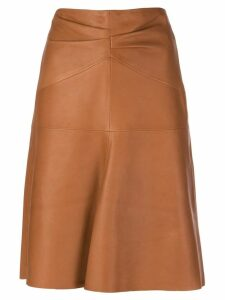 Isabel Marant Gladys skirt - Brown