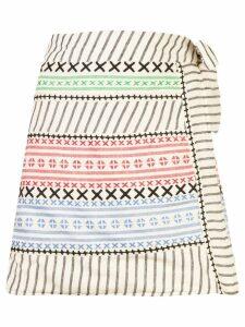 Dodo Bar Or Leonil patterned skirt - White