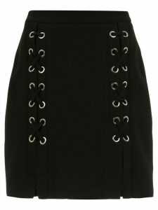 Olympiah lace up Messina skirt - Black