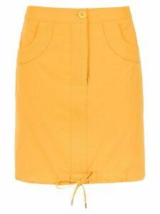 Egrey high waisted skirt - Yellow