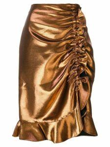 Kenzo ruched skirt - Metallic