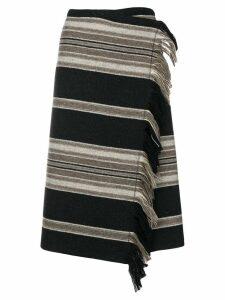 Isabel Marant Harden asymmetric skirt - Black