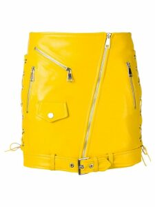Manokhi biker skirt - Yellow