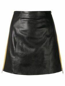 Givenchy side stripe mini skirt - Black