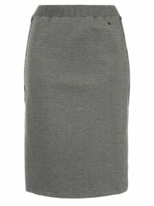 Guild Prime logo stripe skirt - Grey