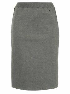 Guild Prime logo stripe skirt - Grey