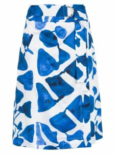 Tufi Duek midi skirt - Blue