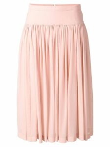 Stella McCartney flared midi skirt - PINK