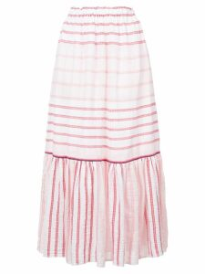 Lemlem striped full skirt - Pink