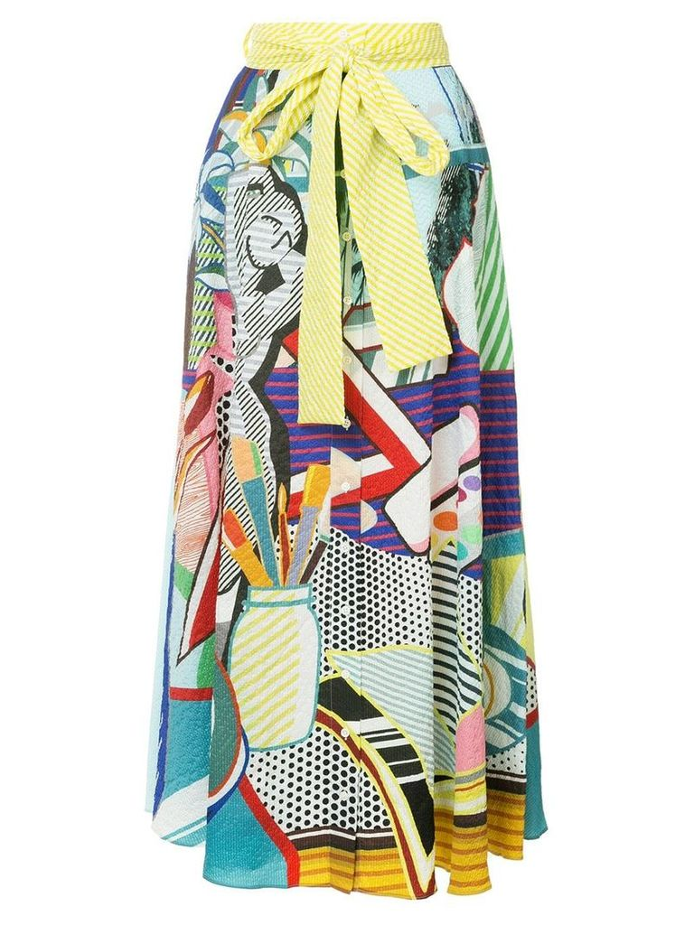 Mary Katrantzou pop art skirt - Multicolour