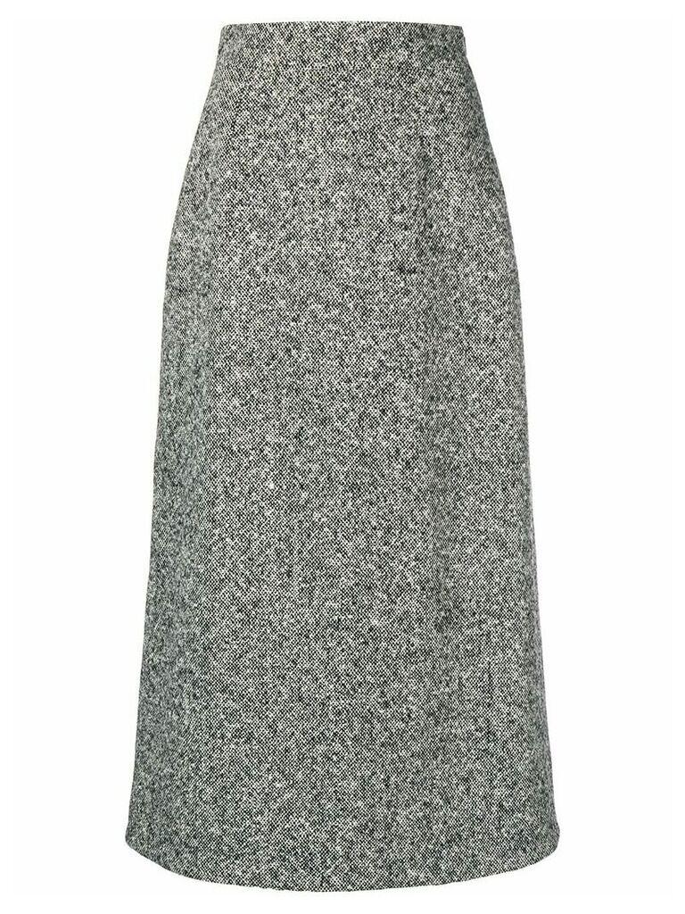 Saint Laurent A-line skirt - Black