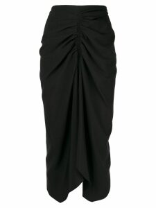 Isabel Marant draped skirt - Black