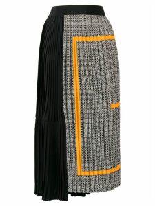 Givenchy monogram pleated skirt - Black