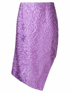 Aalto textured handkerchief skirt - Purple