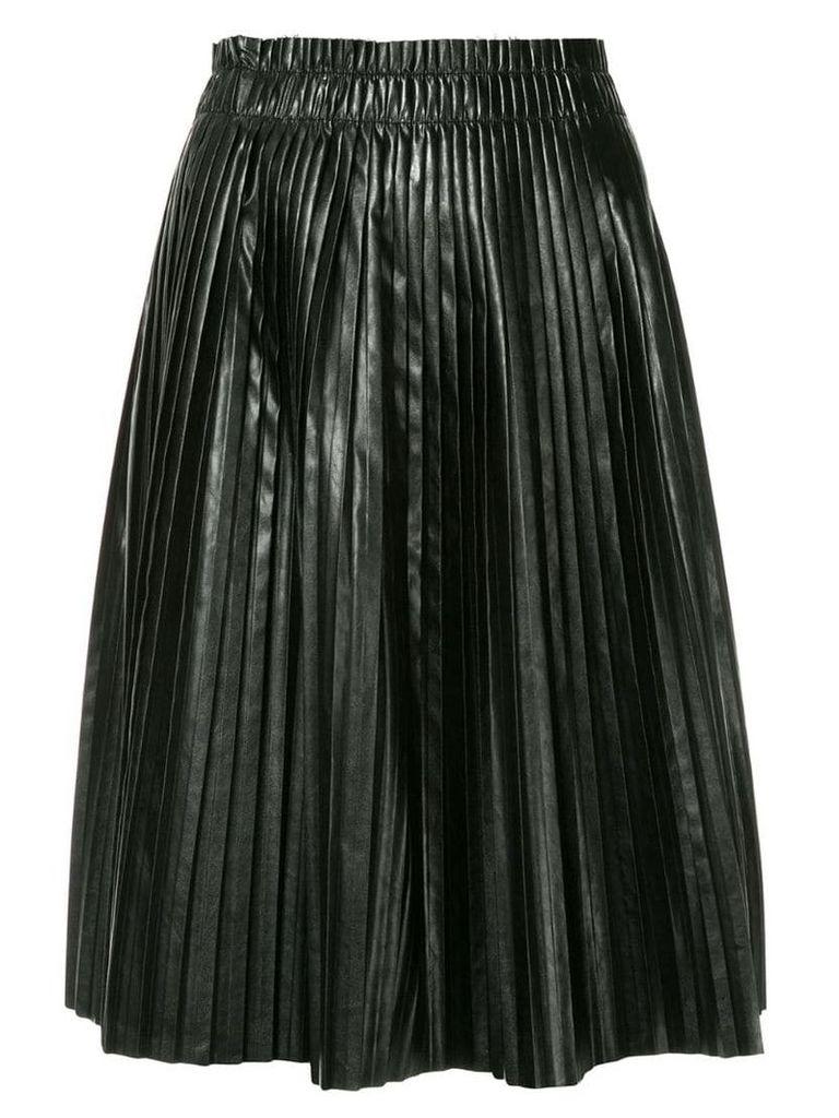 We11done pleated skirt - Black