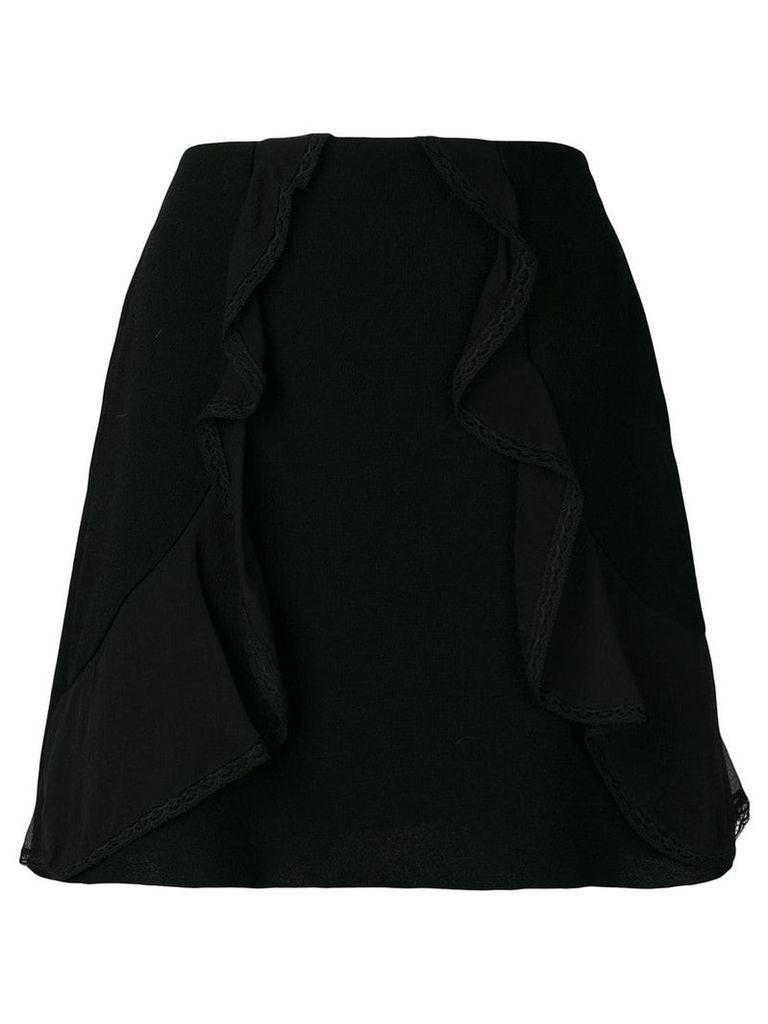See By Chloé ruffle trim skirt - Black