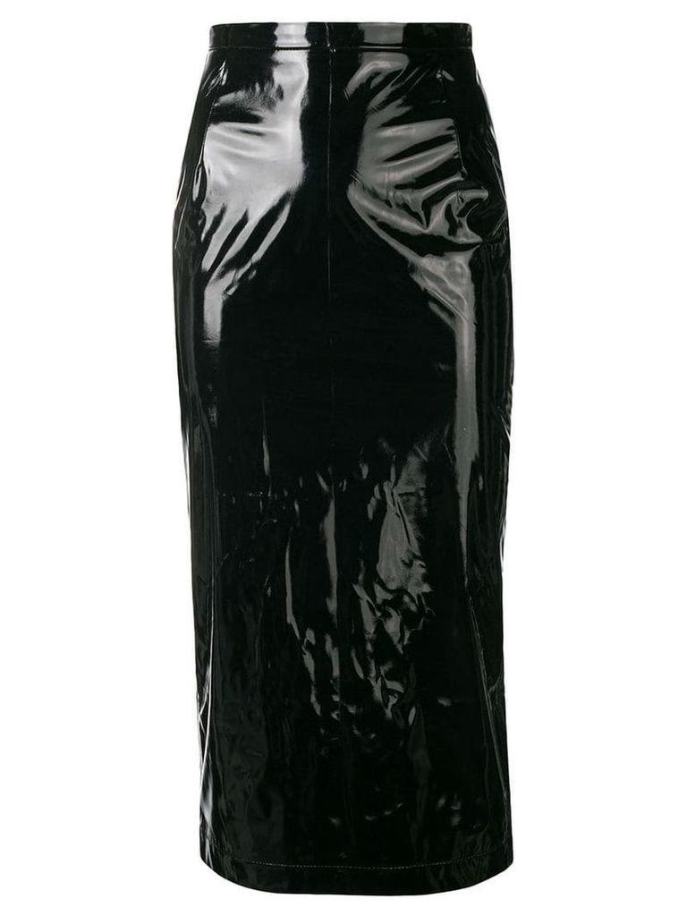 Nº21 'Skin' pencil skirt - Black