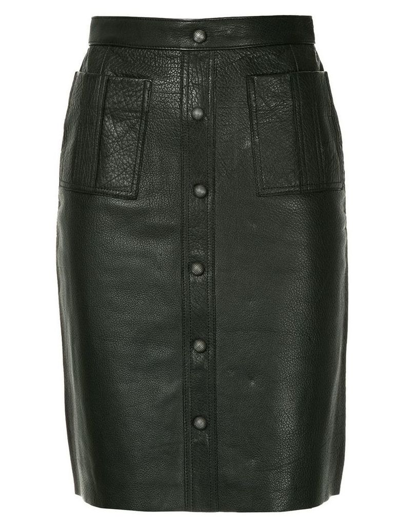 Aje Martin midi skirt - Black