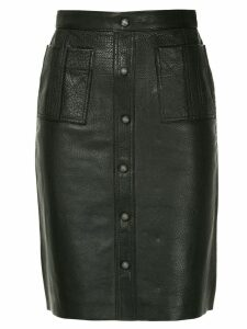 Aje Martin midi skirt - Black