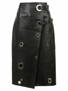 Altuzarra rivet wrap skirt - Black