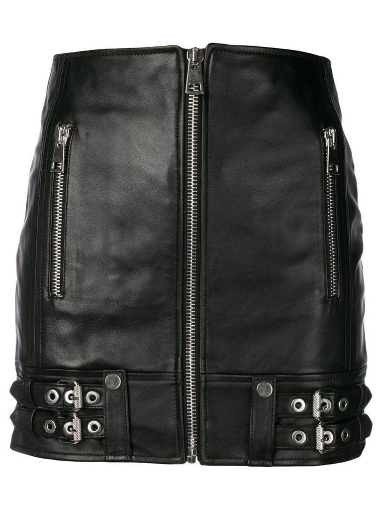 Manokhi zipped mini pencil skirt - Black