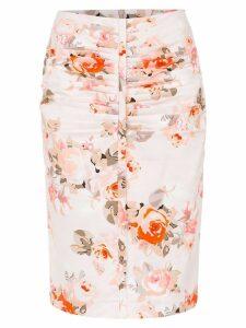 Reinaldo Lourenço pencil skirt - Pink