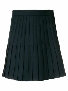 Thom Browne School Uniform Mini-Pleated Miniskirt - Blue