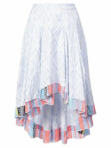 Lemlem Besu pleated skirt - Blue