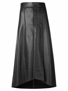 Isabel Marant leather midi skirt - Black
