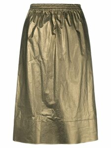Ports 1961 metallic flared skirt