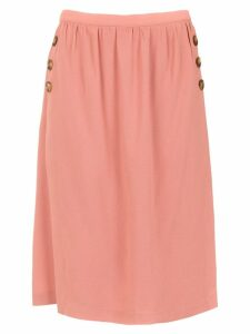 Egrey straight skirt - Pink