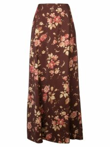 Zimmermann Unbridled Contour skirt - Red