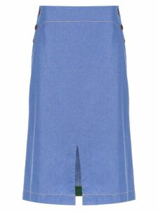 Isolda Bacuri jeans skirt - Blue