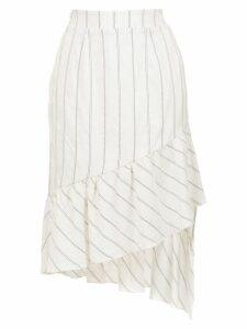 Olympiah Fiora linen skirt - White