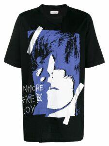 Faith Connexion face print T-shirt - Black