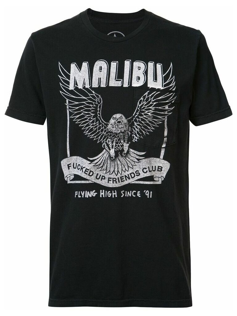 Local Authority Malibu FUFC pocket T-shirt - Black