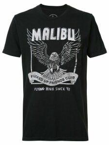 Local Authority Malibu FUFC pocket T-shirt - Black