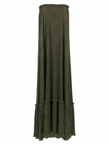 Adriana Degreas 'TQC' pleated dress - Green
